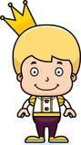 Cartoon Smiling Prince Boy Stock Images