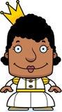 Cartoon Smiling Princess Woman Royalty Free Stock Photos