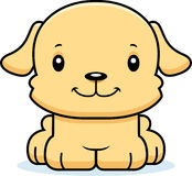 Cartoon Smiling Puppy Royalty Free Stock Photography