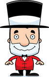 Cartoon Smiling Ringmaster Man Royalty Free Stock Photo