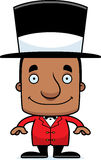 Cartoon Smiling Ringmaster Man Royalty Free Stock Images