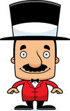 Cartoon Smiling Ringmaster Man Royalty Free Stock Image