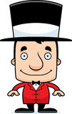 Cartoon Smiling Ringmaster Man Royalty Free Stock Image