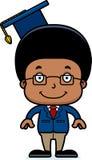 Cartoon Smiling Teacher Boy Royalty Free Stock Photography