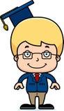 Cartoon Smiling Teacher Boy Royalty Free Stock Images
