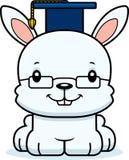 Cartoon Smiling Teacher Bunny Stock Image