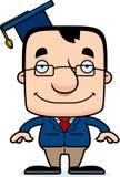 Cartoon Smiling Teacher Man Stock Photography