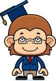 Cartoon Smiling Teacher Monkey Royalty Free Stock Photo