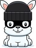 Cartoon Smiling Thief Bunny Royalty Free Stock Photography