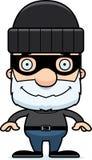Cartoon Smiling Thief Man Royalty Free Stock Photos