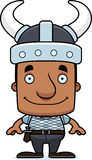 Cartoon Smiling Viking Man Royalty Free Stock Image