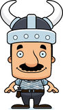 Cartoon Smiling Viking Man Royalty Free Stock Images