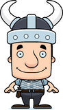 Cartoon Smiling Viking Man Stock Photos