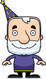 Cartoon Smiling Wizard Man Royalty Free Stock Photos