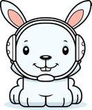 Cartoon Smiling Wrestler Bunny Stock Photo