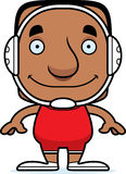 Cartoon Smiling Wrestler Man Royalty Free Stock Photos