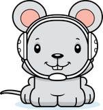 Cartoon Smiling Wrestler Mouse Stock Photography