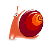 Cartoon Snail Stock Photo