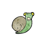 Cartoon snail Royalty Free Stock Photo