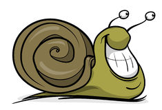 Cartoon snail Stock Image