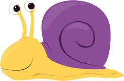 Cartoon Snail Royalty Free Stock Images