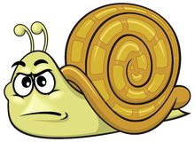 Cartoon snail 01 Royalty Free Stock Image
