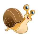Cartoon Snail Royalty Free Stock Photography