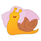 Cartoon snail vector Royalty Free Stock Images