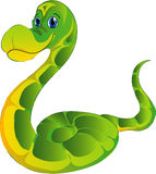 Cartoon snake Stock Image