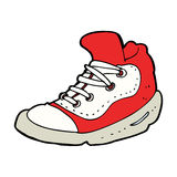 Cartoon sneaker Royalty Free Stock Photography