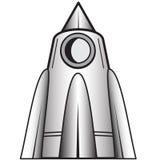 Cartoon space craft Stock Photos