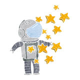 Cartoon spaceman Royalty Free Stock Images