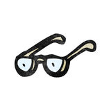 Cartoon spectacles Stock Image