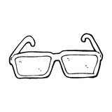 Cartoon spectacles Stock Photography