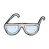 Cartoon spectacles Royalty Free Stock Images