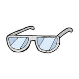 Cartoon spectacles Stock Photo