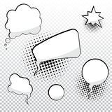 Cartoon speech bubbles Royalty Free Stock Photography