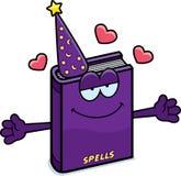 Cartoon Spell Book Hug Royalty Free Stock Image