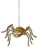 Cartoon Spider Royalty Free Stock Photo