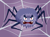 Cartoon Spider Stock Photo