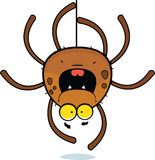 Cartoon Spider Climbing Stock Image