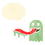Cartoon spooky ghost Stock Images