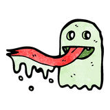 Cartoon spooky ghost Stock Image