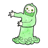 Cartoon spooky ghost Royalty Free Stock Image