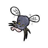Cartoon spooky skull fly Stock Photo