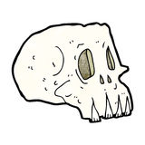Cartoon spooky skull Royalty Free Stock Photos