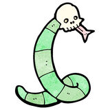 Cartoon spooky snake Royalty Free Stock Image
