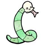 Cartoon spooky snake Royalty Free Stock Image