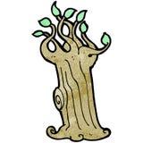 Cartoon spooky tree Stock Photo