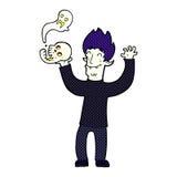 Cartoon spooky vampire Stock Photos